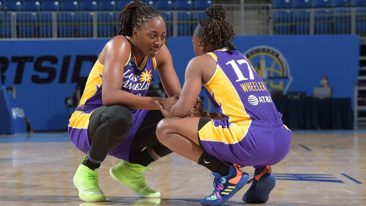 WNBA Odds, Picks & Predictions: 3 Best Bets for Thursday, Including Aces vs. Liberty, Sky vs. Mercury & Fever vs. Sparks (June 3) article feature image