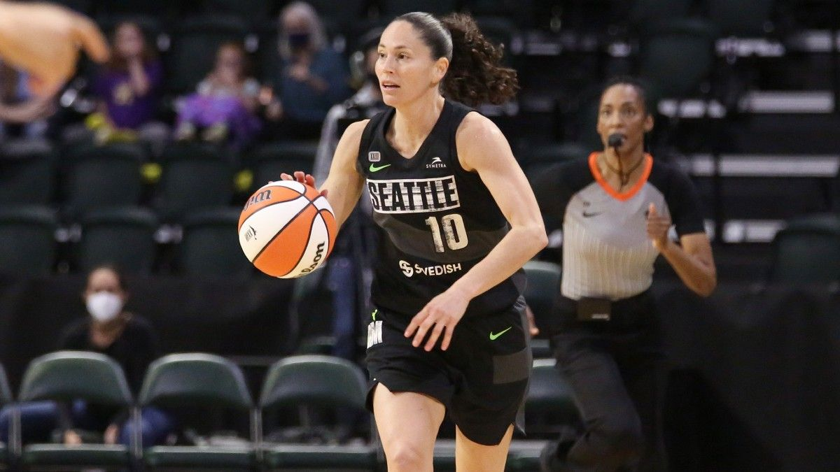 WNBA Odds, Tuesday's Preview, Predictions: Mystics vs. Storm, Sky vs. Liberty, Wings vs. Sun (June 22) article feature image