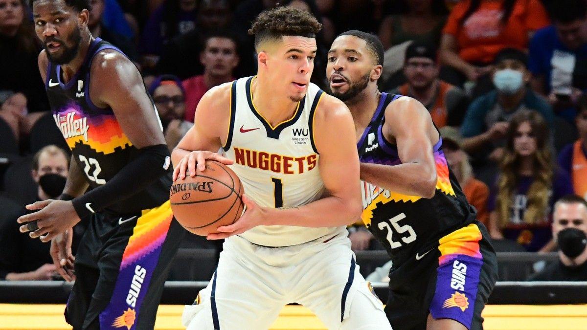 NBA Player Prop Bets, Picks for Sunday: 3 Picks for Nets vs. Bucks & Suns vs. Nuggets, Including Devin Booker & Michael Porter Jr. (June 13) article feature image