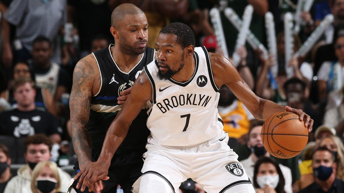 NBA Odds, Preview, Prediction for Bucks vs. Nets Game 7: Is the Milwaukee-Brooklyn Total Still Too High? (Saturday, June 19) article feature image