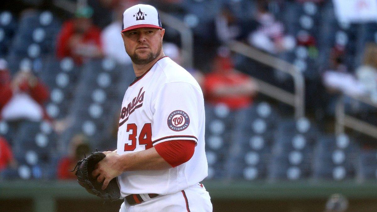 2 MLB Pitcher Props for Wednesday: Randy Dobnak vs. Orioles & Jon Lester vs. Braves (June 2) article feature image