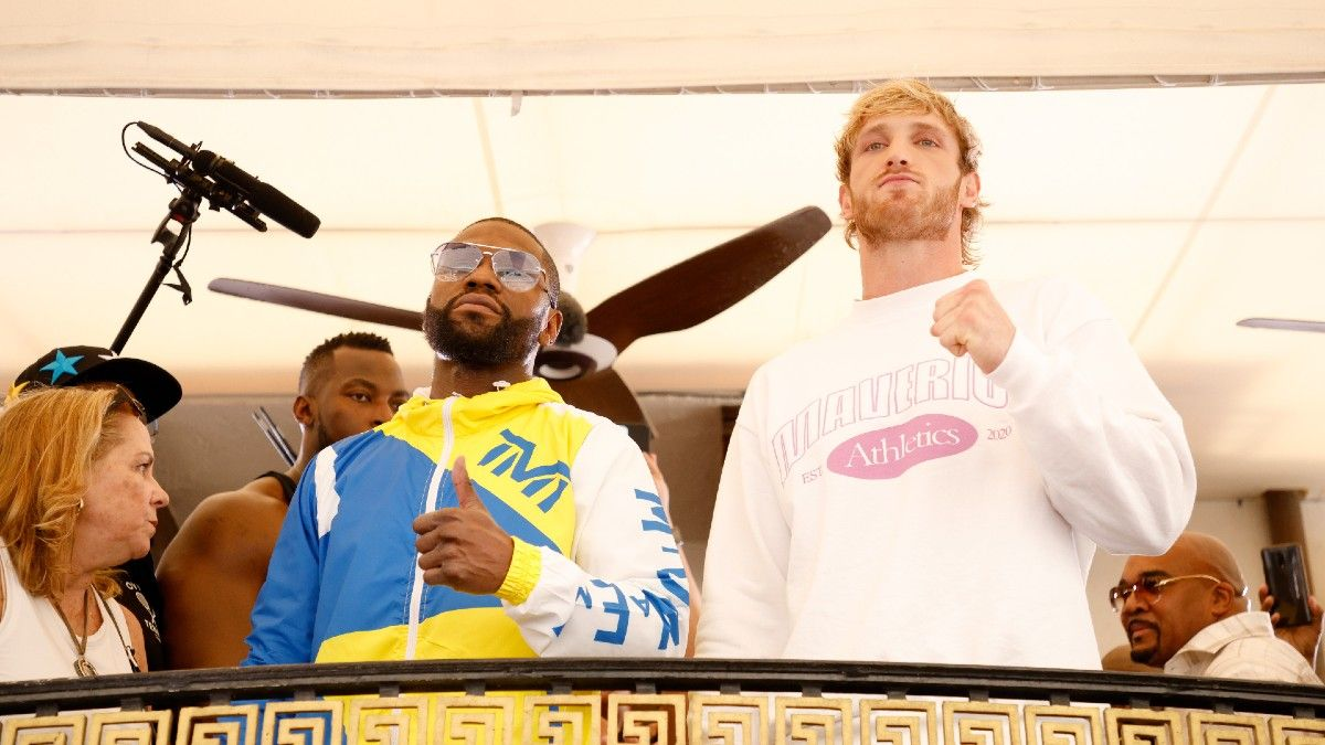 Why You Can't Bet Floyd Mayweather vs. Logan Paul in the United States: Odds, Rules, Format, More for Sunday PPV article feature image