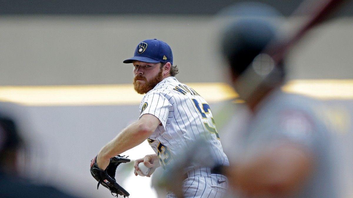 Thursday MLB Player Prop Bets, Picks: Brandon Woodruff, Charlie Morton Have Value (June 17) article feature image