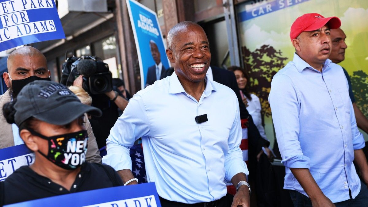 2021 New York City Mayoral Election Odds: Eric Adams the Favorite on Final Day article feature image
