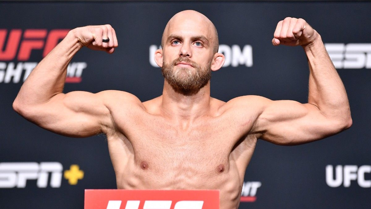UFC Fighter Justin Jaynes Says He'll Bet Entire $25K Fight Purse on Himself in Saturday Bout article feature image