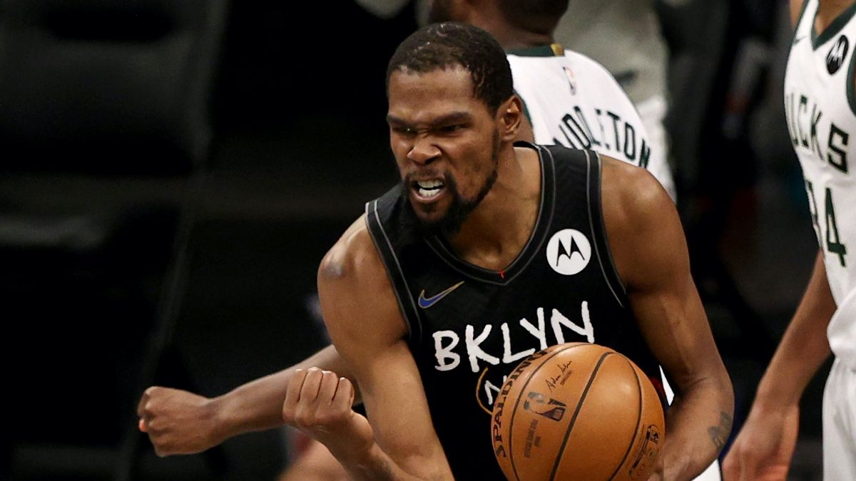 NBA Playoffs Player Prop Bets, Picks: Does Kevin Durant Have an Encore Performance in Nets vs. Bucks, Game 6? (Thursday, June 17) article feature image