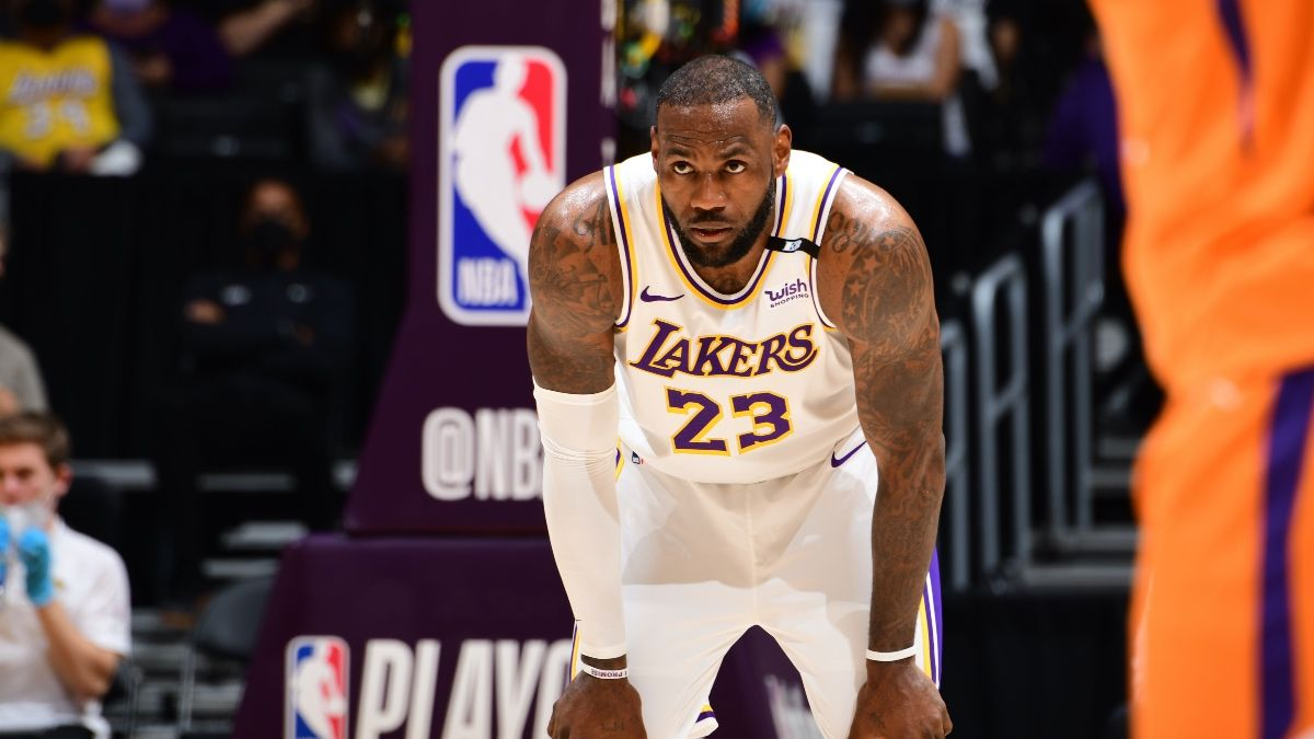 3 NBA Player Props To Bet Tuesday: A LeBron James Over & More Playoff Picks article feature image