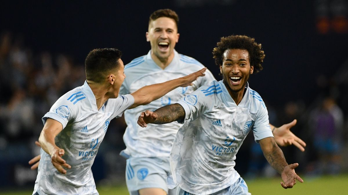 Saturday's MLS Betting Odds, Picks, Predictions: Sporting Kansas City vs. Los Angeles FC Preview (June 26) article feature image