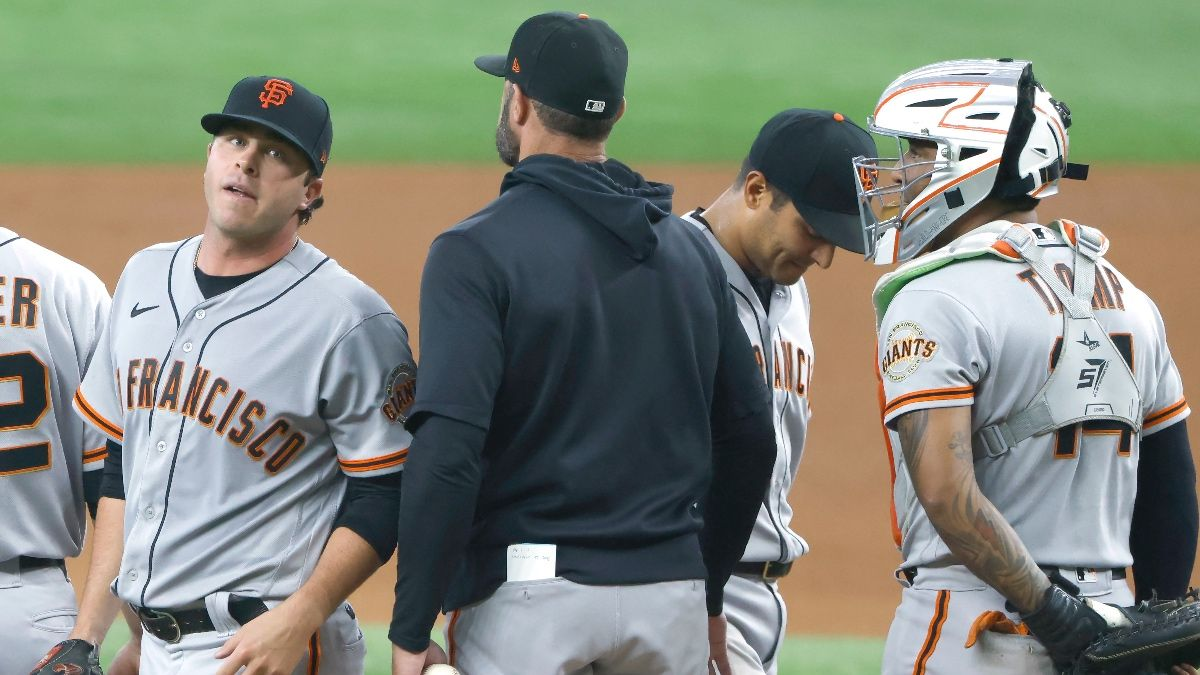 Sunday MLB Betting Odds, Preview & Prediction for Athletics vs. Giants: Back San Francisco to Pull Off Sweep (June 27) article feature image