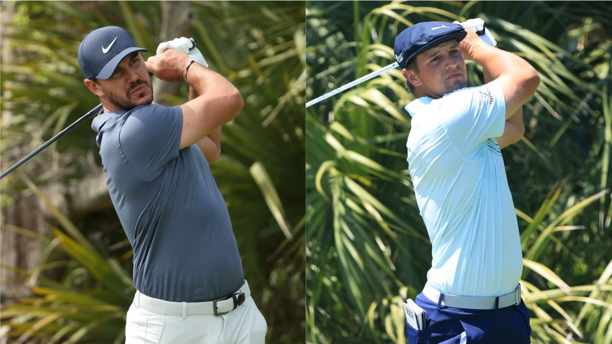 Brooks Koepka vs. Bryson DeChambeau U.S. Open Odds, Promo: Bet $20 on Either Golfer, Win $200 if He Records 1+ Birdie! article feature image