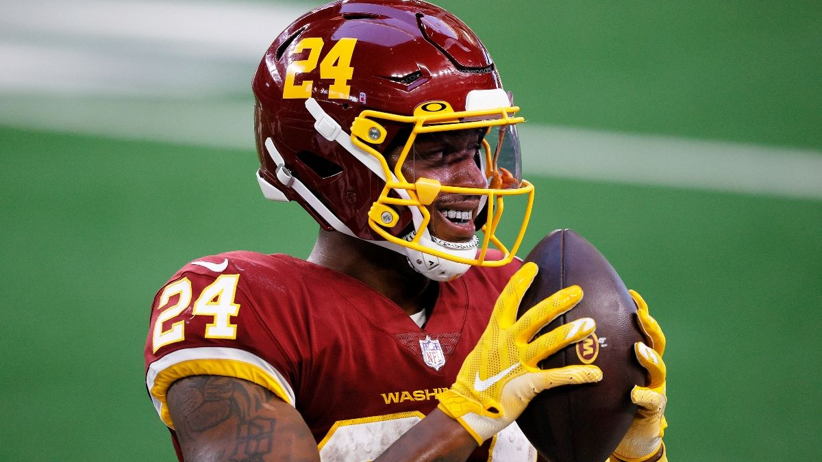 Why Antonio Gibson's Upside Is Worth the Investment In Your 2021 Fantasy Football Drafts article feature image
