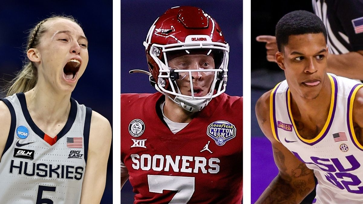 Ranking Top 20 College Athletes who are Favorites to Capitalize on Name, Image & Likeness article feature image