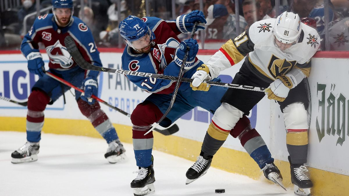 NHL Odds, Pick, Prediction for Avalanche vs. Golden Knights Game 3: Vegas Looks for First Win of Series (Thursday, June 4) article feature image