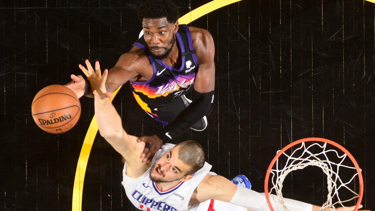 Rebound or Steal? Deandre Ayton's Near Double-Double Ignites Debate Among Bettors article feature image