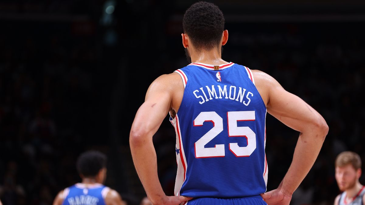 What NBA Team Will Ben Simmons Play For In 2022? New Odds Released article feature image