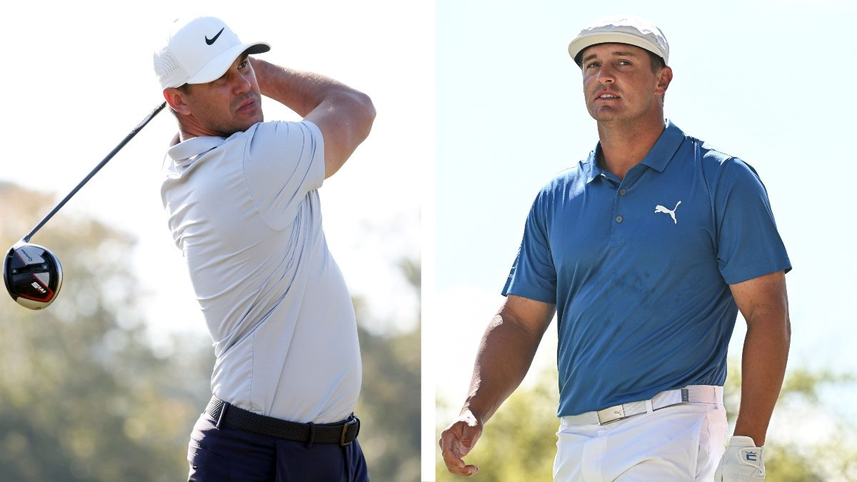 Brooks Koepka vs. Bryson DeChambeau: Which Player Has the Edge at the 2021 U.S. Open? article feature image