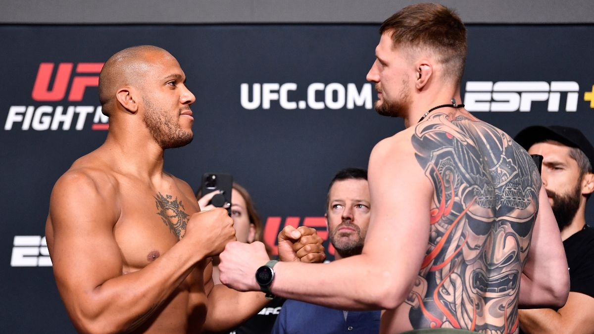 UFC Fight Night Odds, Pick & Prediction for Cyril Gane vs. Alexander Volkov: Bet on a Lengthy Main Event Matchup (Saturday, June 26) article feature image