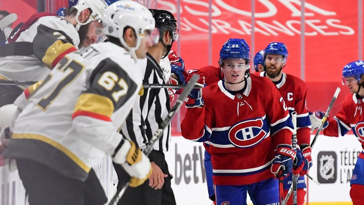 Canadiens vs. Golden Knights NHL Odds, Pick, Prediction: How to Back Montreal's Series Odds article feature image