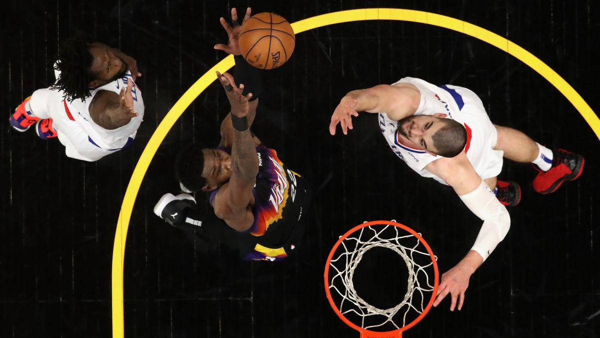 Deandre Ayton's 'Valley-Oop' Wasn't Just an Awesome Play — It Was a Series Odds Changer article feature image