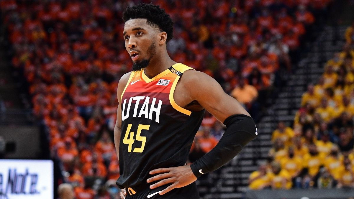 NBA Player Prop Bets, Picks: 3 Picks for Jazz vs. Clippers Game 3, Including Donovan Mitchell & Kawhi Leonard (Saturday, June 12) article feature image