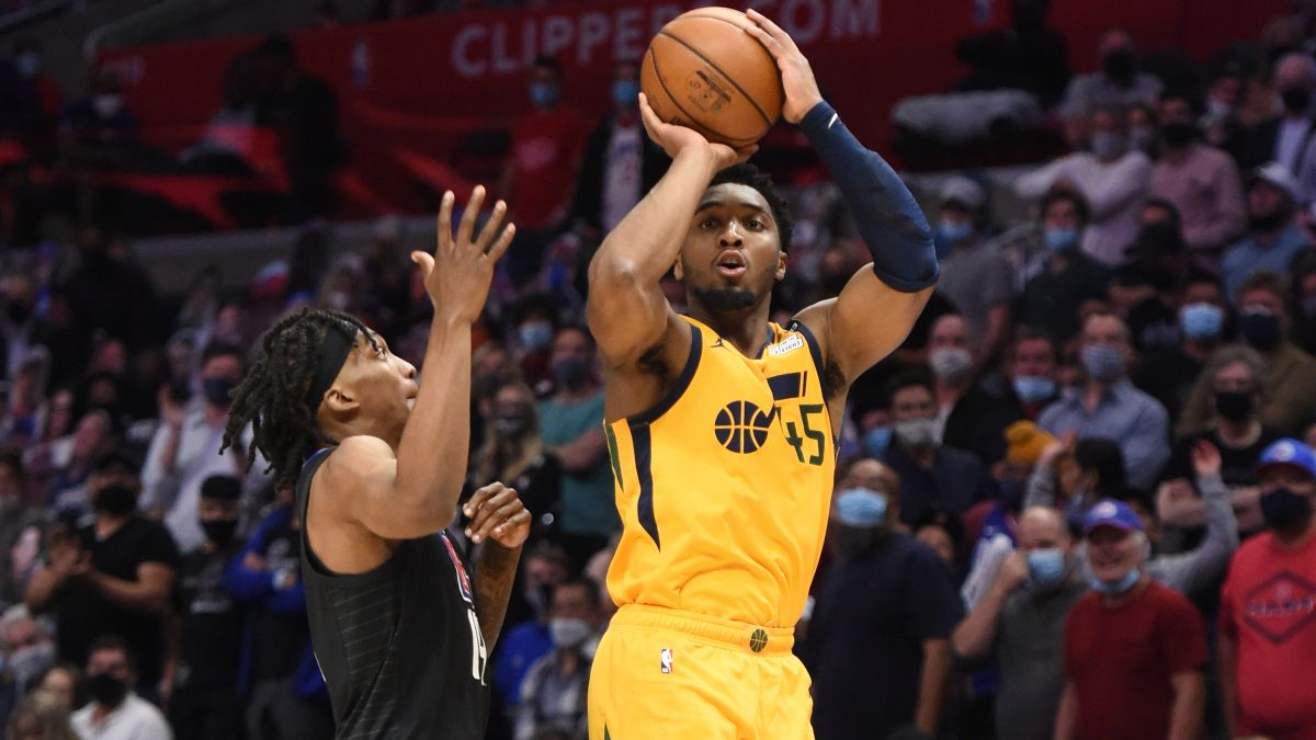 Moore's Angles: 3-Point Shooting Variance Has Defined the Clippers-Jazz Series article feature image