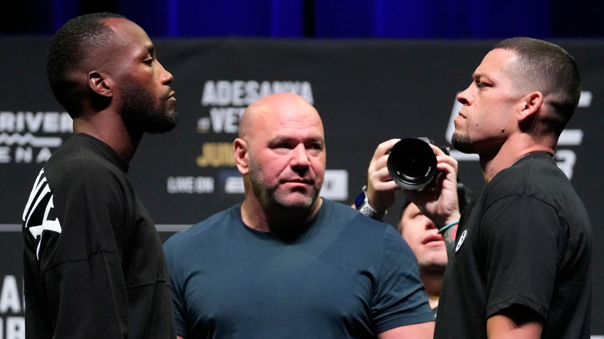 Leon Edwards vs. Nate Diaz UFC 263 Odds, Pick & Prediction: How to Bet Saturday's Welterweight Clash (June 12) article feature image