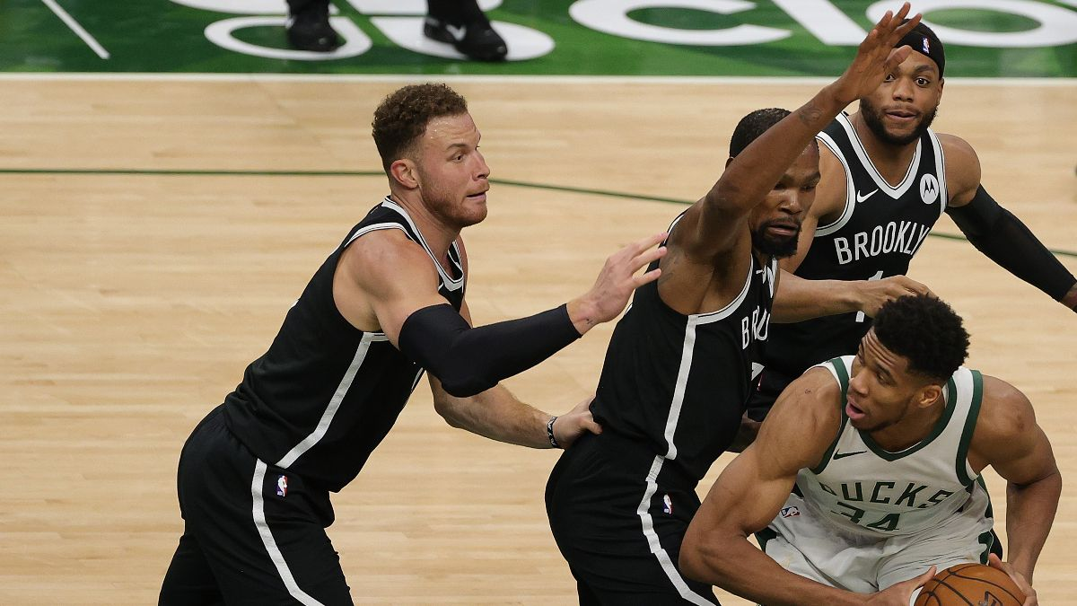 NBA Playoffs Odds & Picks for Nets vs. Bucks Game 6: Which Side of the Total are Sharps Betting? article feature image