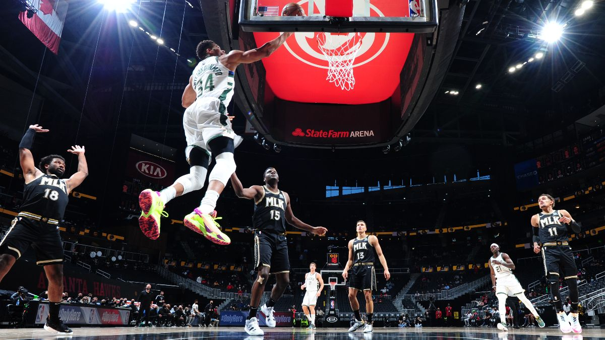 NBA Odds, Picks, Predictions: Hawks vs. Bucks Betting Preview for Game 1 (Wednesday, June 23) article feature image