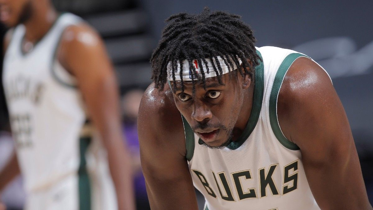 Bucks vs. Hawks Player Prop Picks: 2 Bets on Brook Lopez & Jrue Holiday for Game 5 (July 1) article feature image