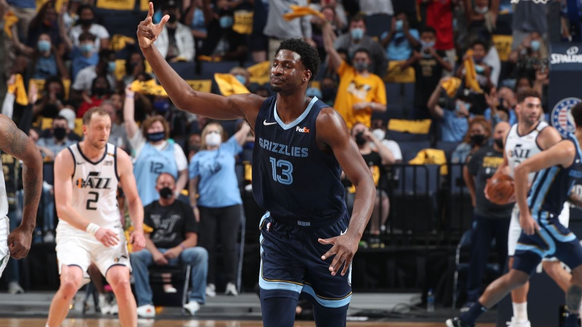 Grizzlies vs. Jazz Odds, Prediction: Wednesday's Big NBA Playoff Betting Model Edge article feature image
