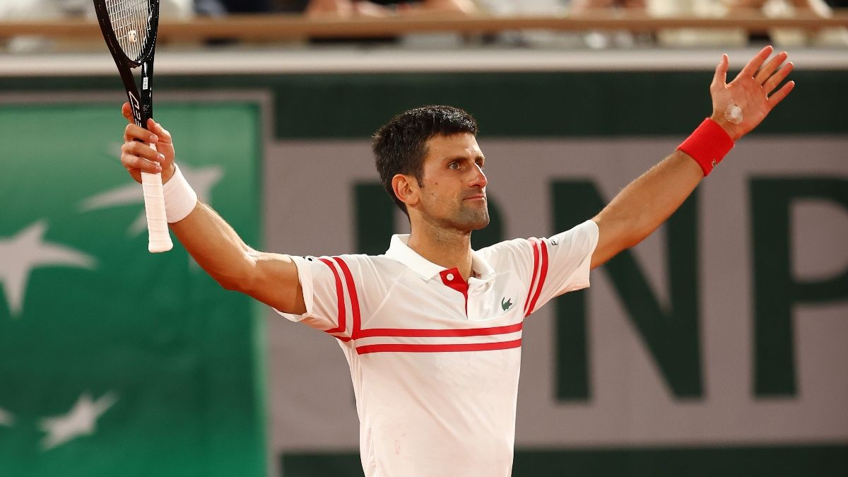 French Open Final Odds, Promo: Bet $20, Win $200 if Djokovic Records an Ace! article feature image