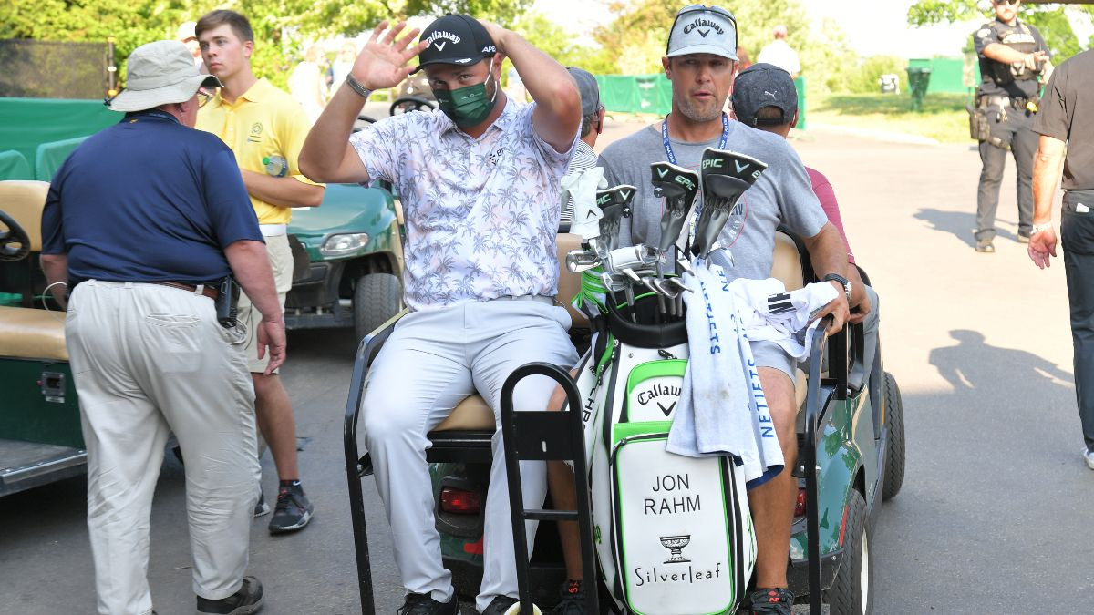 Jon Rahm Withdraws From Memorial After Positive COVID-19 Test: How Sportsbooks Are Reacting article feature image