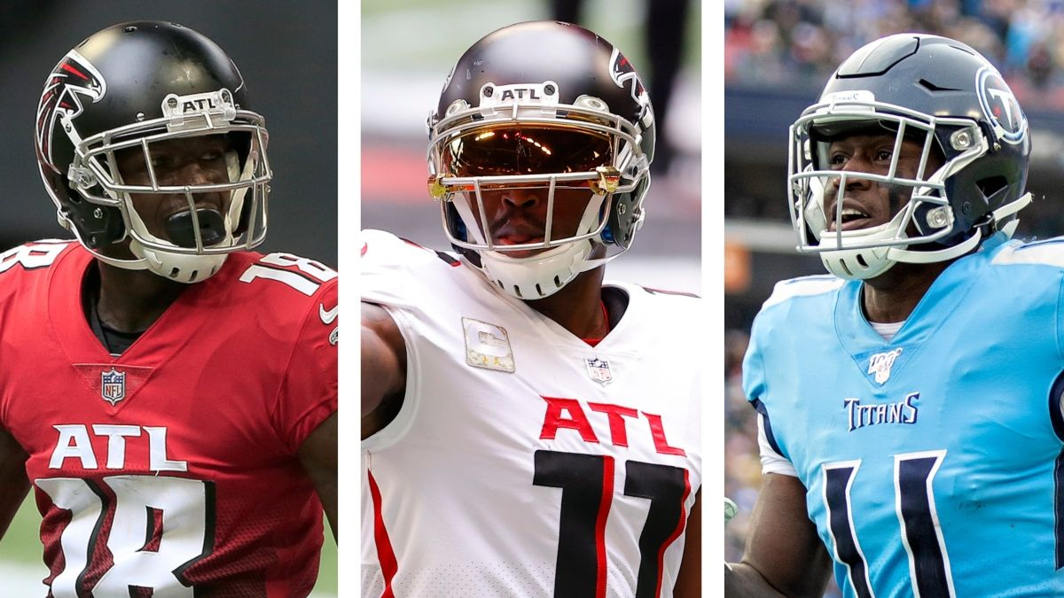 Updated Fantasy Rankings For Julio Jones, Calvin Ridley, A.J. Brown & More Key Players After Trade article feature image