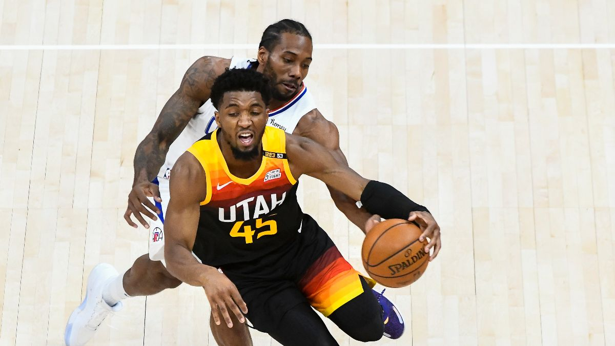 NBA Player Prop Bets, Picks: 3 Picks for Game 4 of Jazz vs. Clippers, Including Kawhi Leonard (Monday, June 14) article feature image
