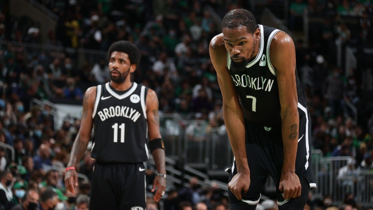 NBA Player Prop Bets: 3 Picks for Bucks vs. Nets, Including Khris Middleton, Kevin Durant & Kyrie Irving (Saturday, June 5) article feature image