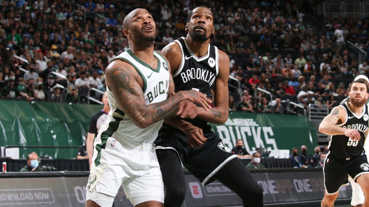 NBA Playoffs Odds, Predictions, Preview for Bucks vs. Nets, Game 5: Bet Brooklyn to Cover Despite Injury Concerns (June 15) article feature image