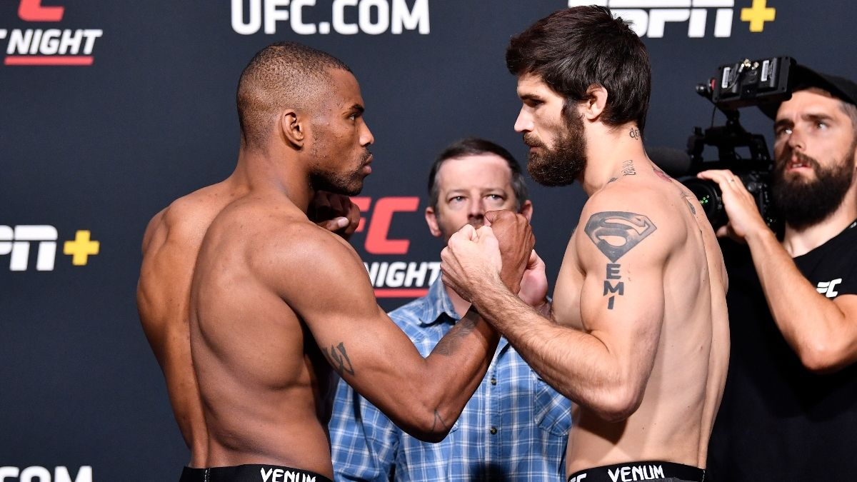 Khaos Williams vs. Matthew Semelsberger UFC Fight Night Odds, Pick & Prediction: How To Bet Undercard Fight (Saturday, June 19) article feature image