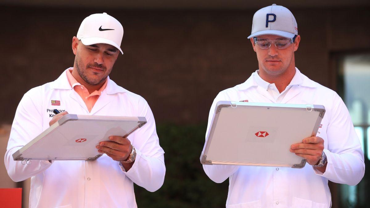 Bryson DeChambeau vs. Brooks Koepka: U.S. Open Odds Predict Winner of Golf's Biggest Rivalry article feature image