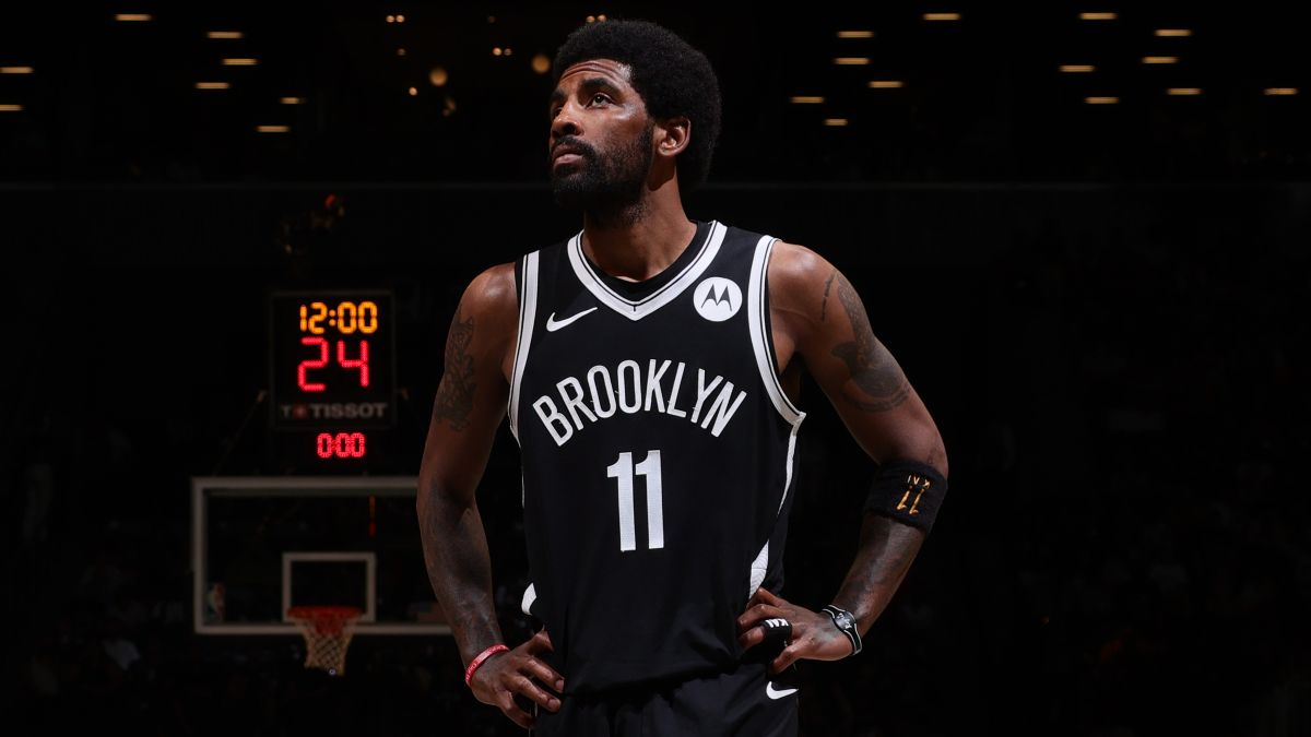 How Kyrie Irving Sitting Out Impacts Brooklyn Nets Futures Odds, Betting Outlook article feature image