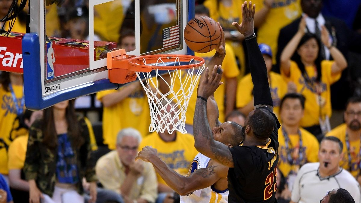 2016 NBA Finals Retrospective: How the Cavaliers' LeBron James-Led Comeback Played Out for Bettors article feature image