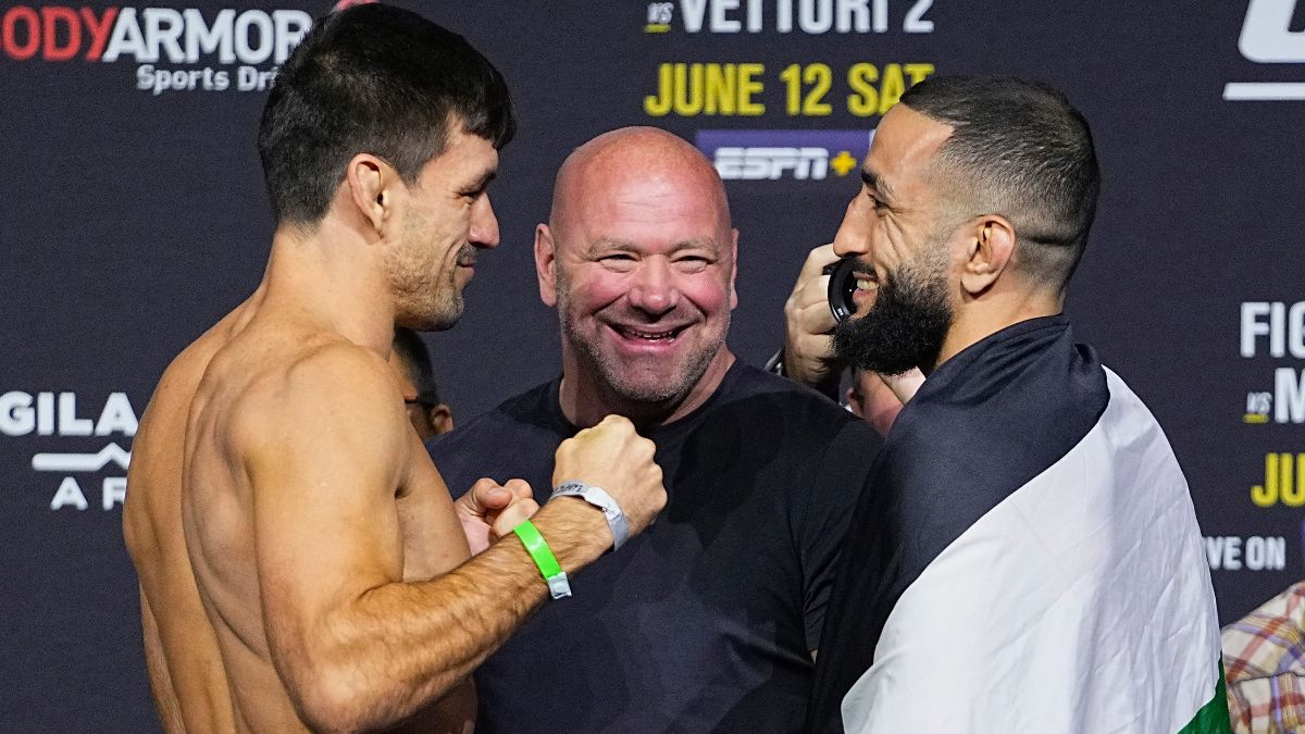Demian Maia vs. Belal Muhammad UFC 263 Odds, Pick & Prediction: How To Bet Welterweight Matchup (June 12) article feature image