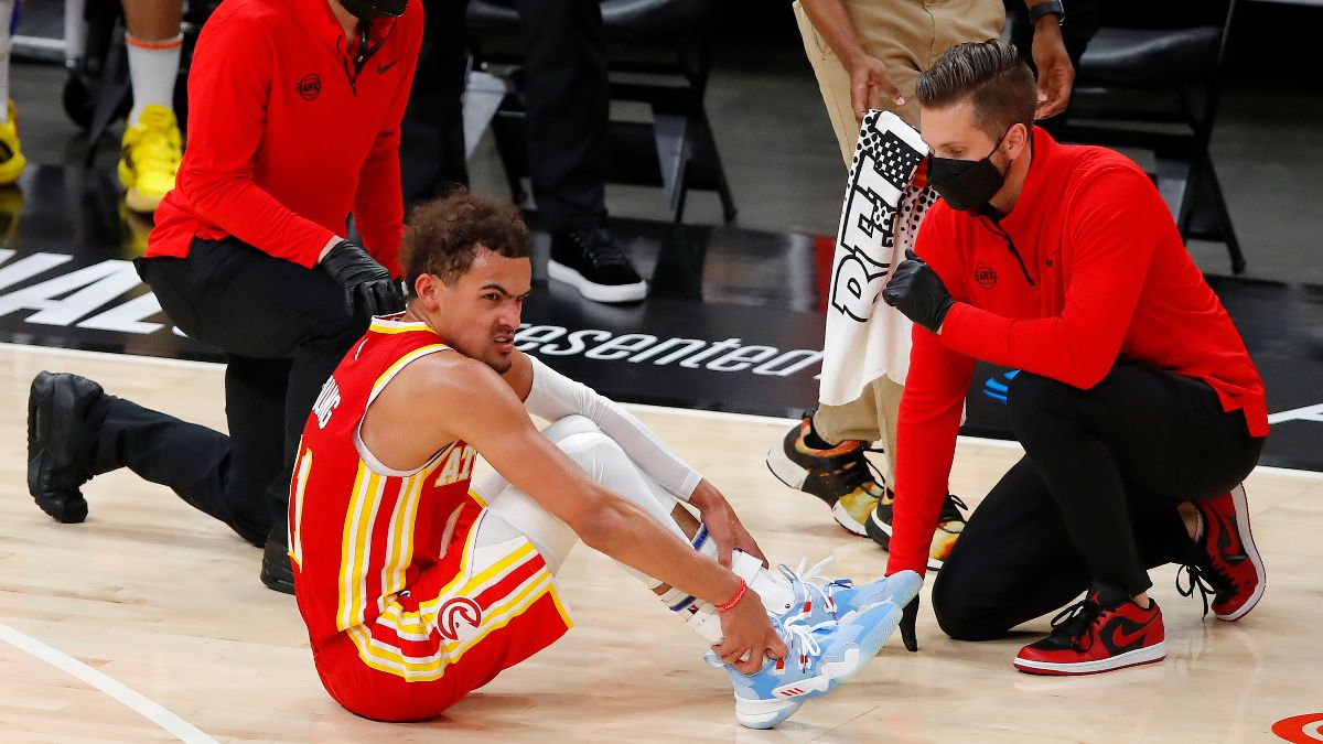 NBA Injury News & Starting Lineups (June 29): Trae Young Questionable for Tuesday's Game 4 article feature image