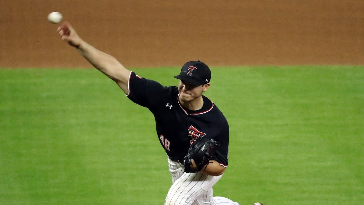 Stanford vs. Texas Tech College Baseball Super Regional Odds, Projections & Series Schedule article feature image