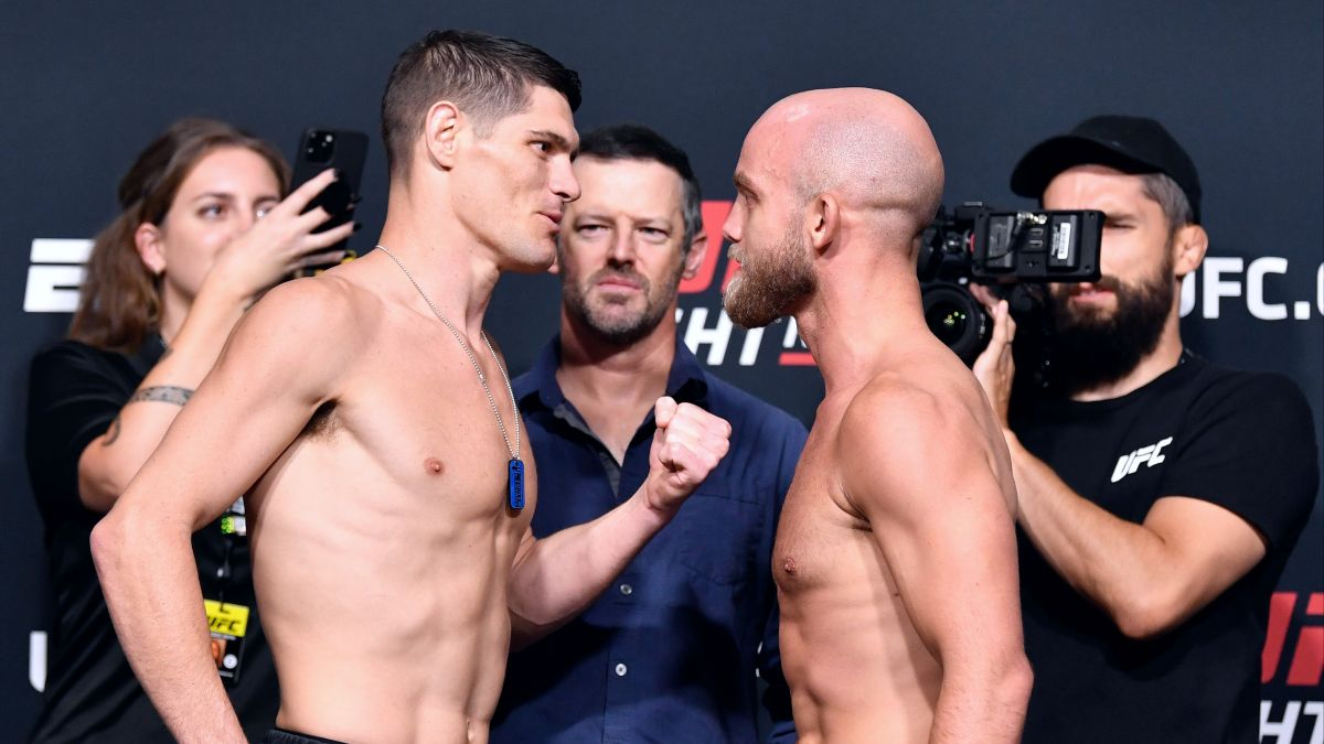 Saturday's UFC Fight Night Betting Odds, Pick, Prediction for Charles Rosa vs. Justin Jaynes: Clashing Styles Avail a Pair of Props to Bet (June 26) article feature image
