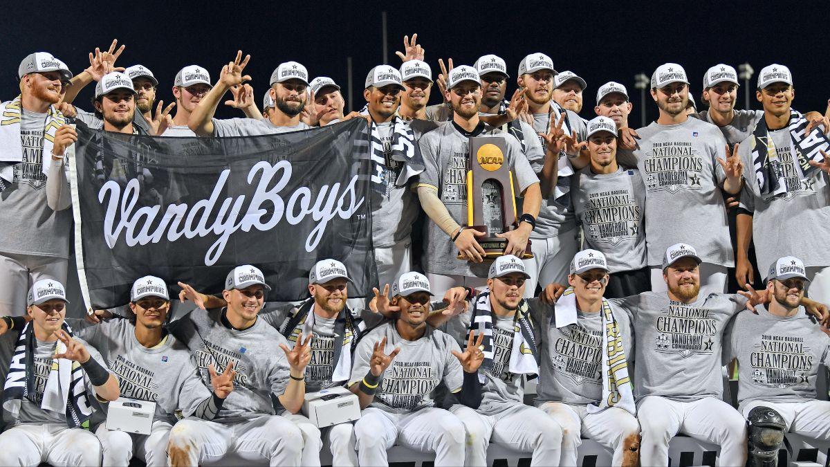 2021 College World Series Betting Market Report: Tennessee & Vanderbilt Becoming Sportsbook Liabilities article feature image