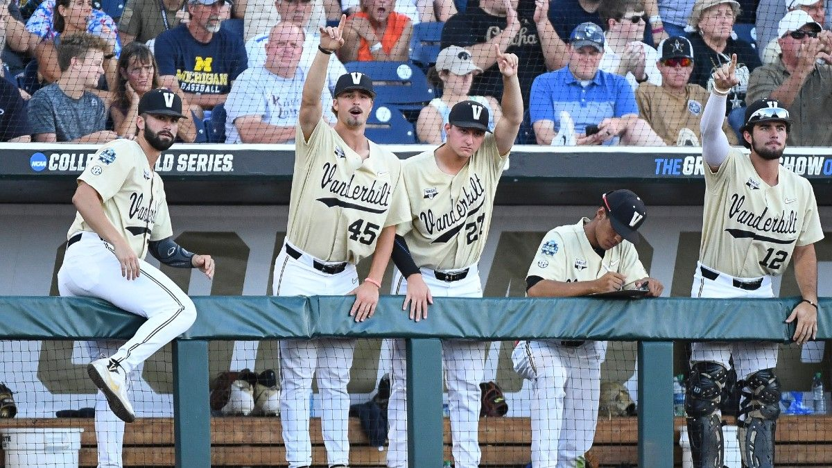 East Carolina vs. Vanderbilt College Baseball Super Regional Odds, Projections & Series Schedule article feature image