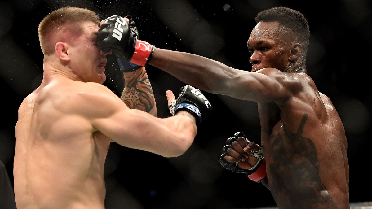 UFC 263 Odds, Fights, TV Schedule: Israel Adesanya Favored in Rematch With Marvin Vettori (Saturday, June 12) article feature image