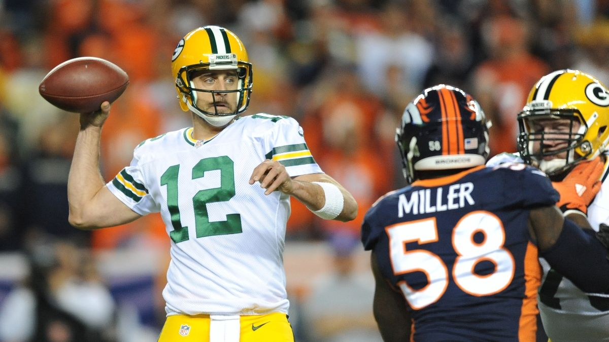 2021 NFL Division Odds: Broncos Are Largest Early Movers As Aaron Rodgers Rumors Swirl article feature image