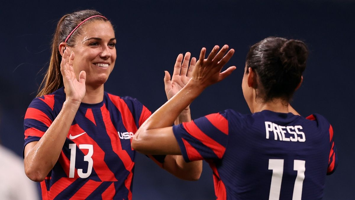 Olympic Women's Soccer Odds, Picks, Prediction: United States vs. Australia Preview (July 27) article feature image