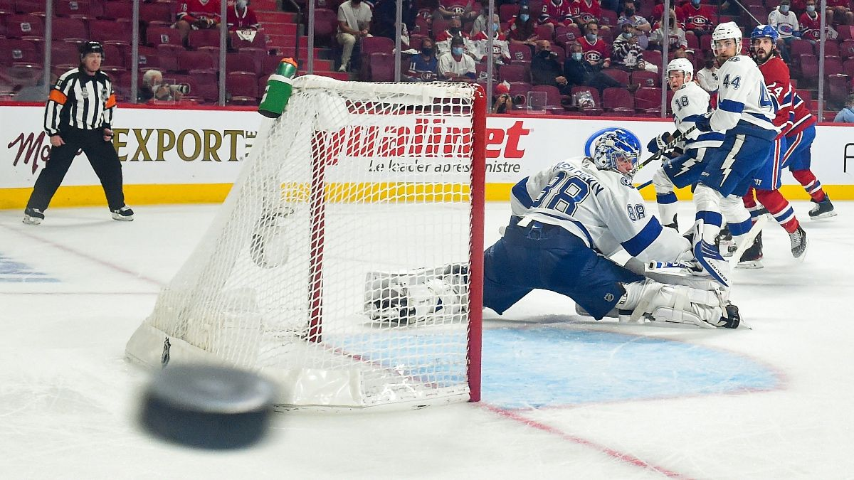 Canadiens vs. Lightning Odds, Pick, Prediction: Stanley Cup Game 5 Betting Preview (Wednesday, July 7) article feature image